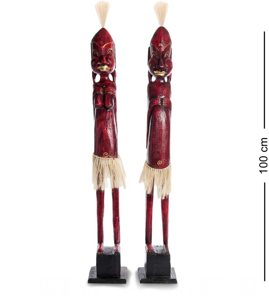 """Статуэтка """"Асмат"""" набор из двух фигурок, 100см"""