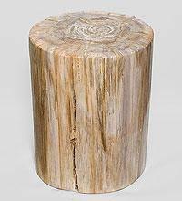 Табурет из древесного камня 50 см, 126кг