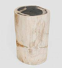 Табурет из окаменелого дерева 40 см 39кг
