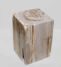 Куб из окаменелого дерева 87кг, 45 см