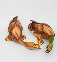 Фигуры из дерева  утки