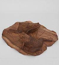 """Фигурка """"Пара лягушек на листе"""" (о.Бали) 36 cm"""