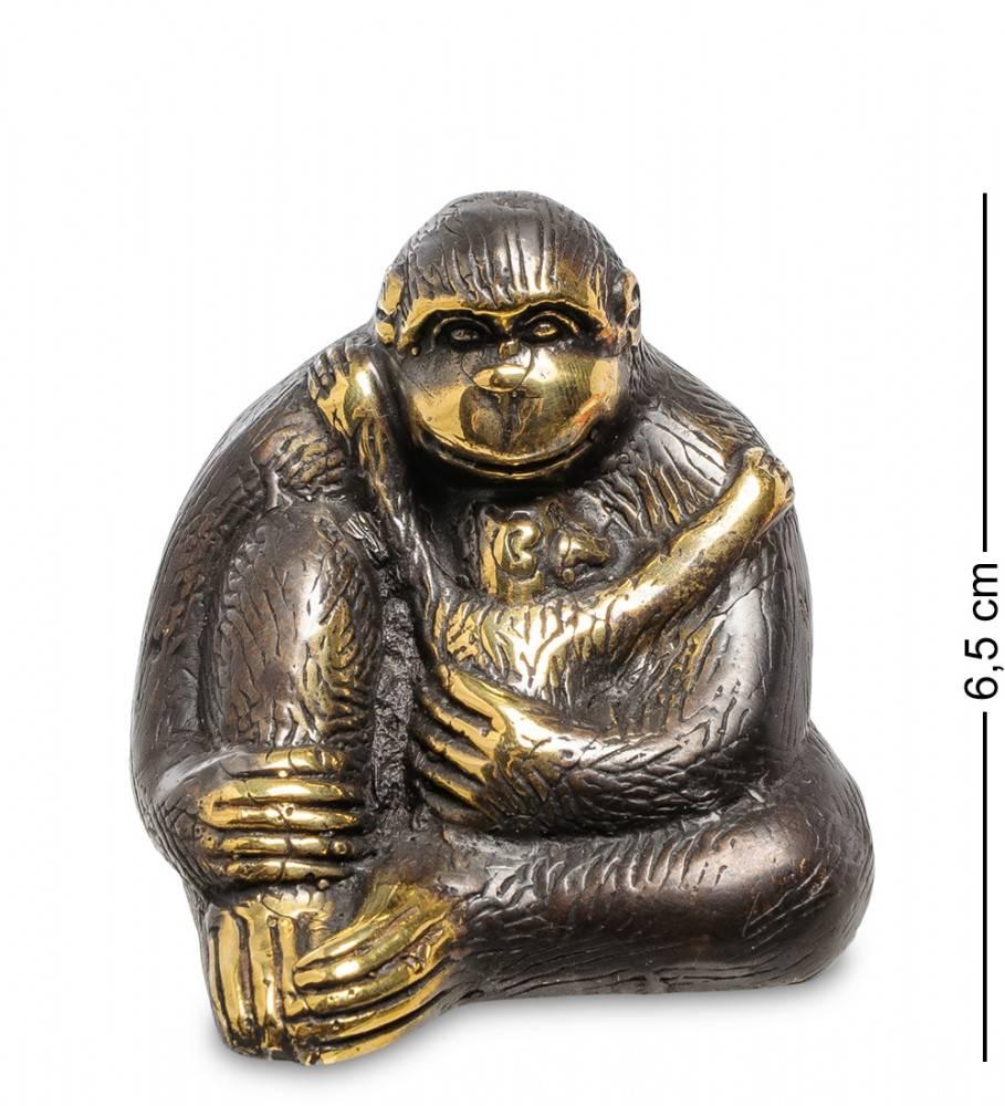 """Фигура """"Горилла"""" бронза (о.Бали) 6,5 см"""