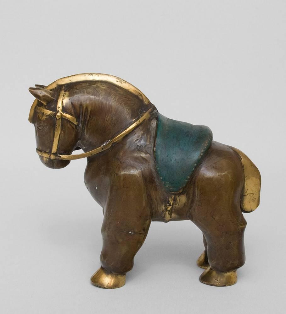 """Фигура """"Лошадь"""" бронза (о.Бали) 23 см"""