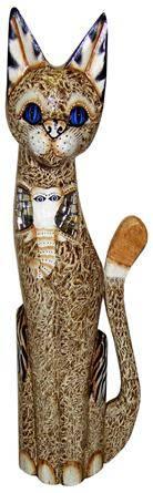Фигурка для декора 'Кошка Богема' 100см.