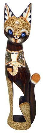 Статуэтка 'Кот с изображением слона' 60см.