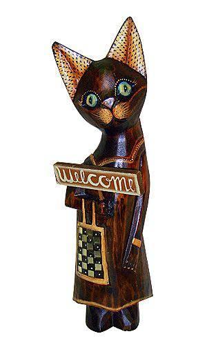 Статуэтка 'Кошка Тринити' 30см.