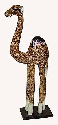 Фигурка деревянная 'Верблюд Реджи' 60cм.