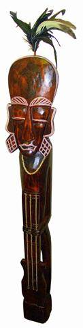 "Интерьерная статуэтка аборигена ""Гитарист"