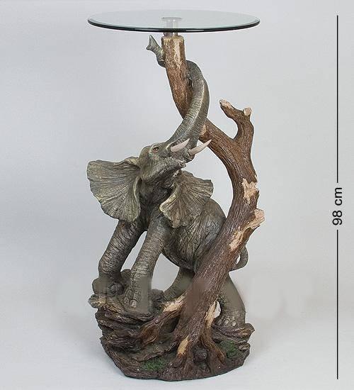 "Статуэтка""Слон у дерева""+ стекло (50*95*43*46)"