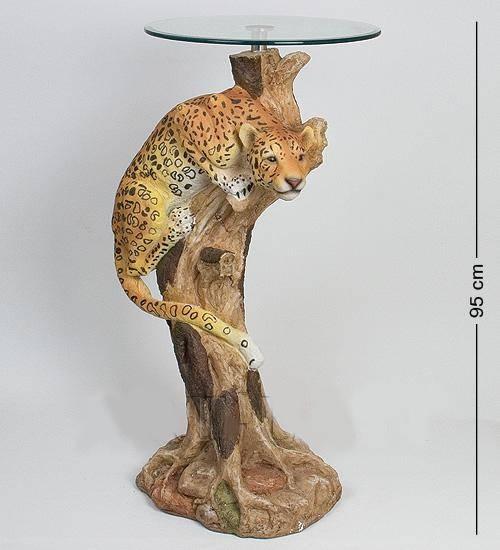 """Статуэтка""""Леопард""""+ стекло (37*93*51*46)"""