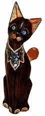 Статуэтка 'Котик в ошейнике' 50см.